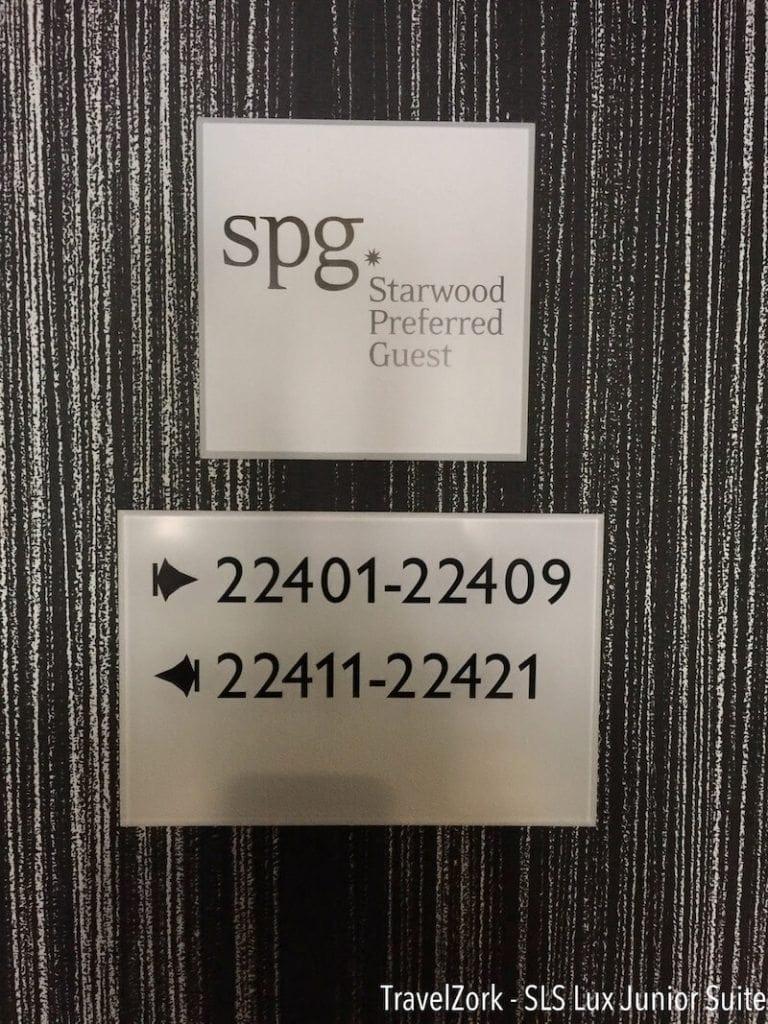 Review Redux The Sls Las Vegas Lux Tower Spg Junior Suite